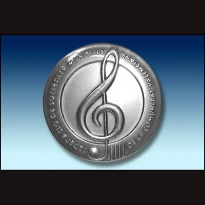 MONEDA DE LA FED.SOCIEDADES MUSICALES COMUNIDAD VALENCIANA F.S.M.C.V.