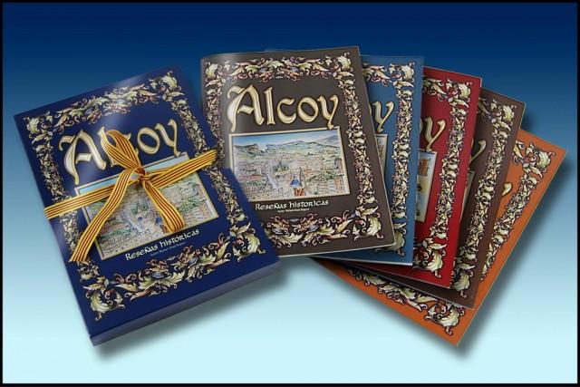 ALCOY, RESEÑAS HISTORICAS - EDICION COMPLETA